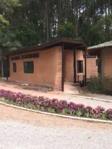 Casa de Chá Affesc - feita de superadobe